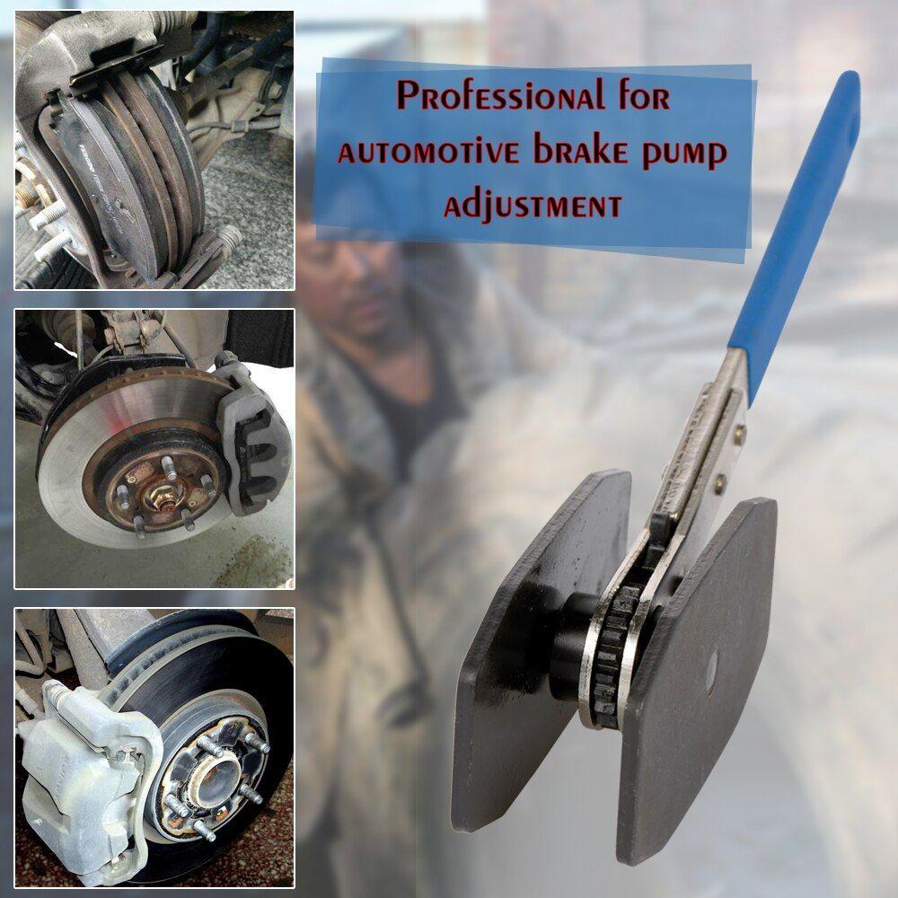 Brake Caliper Press Braking Twin Quad Pistons Ratchet