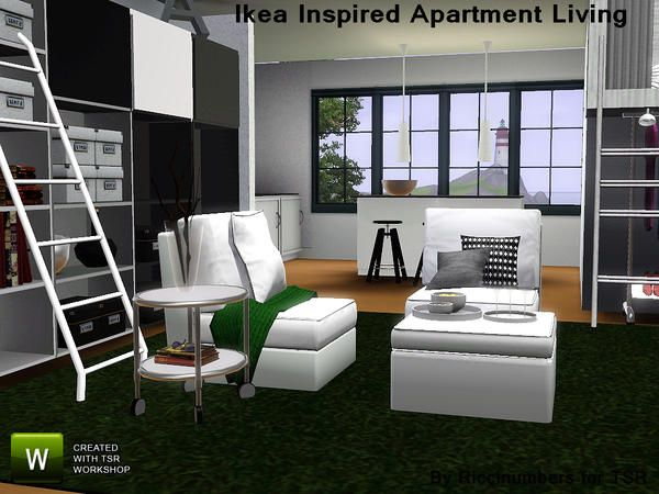 Ikea Inspired Apartment Living - Riccinumbers