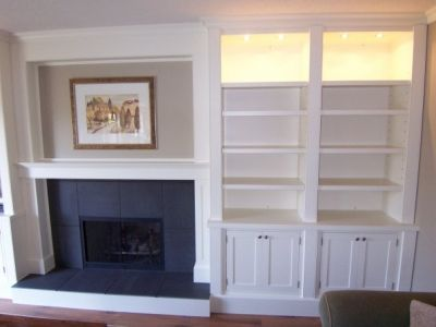 Delightful Living Room Ideas · Built In Wall Unit : Mark Udell Custom Woodwork Want  This But Smaller