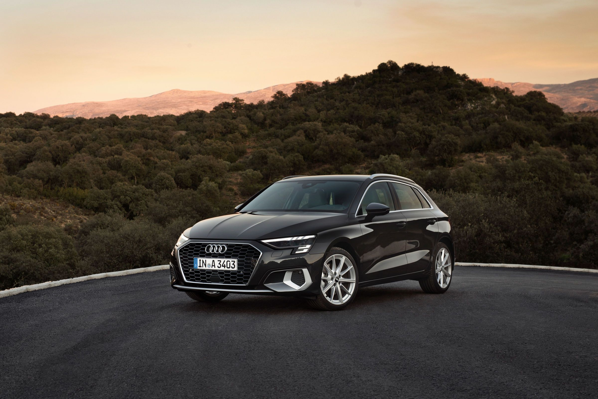 New Audi A3 Sportback Market Launch and SpecialEdition