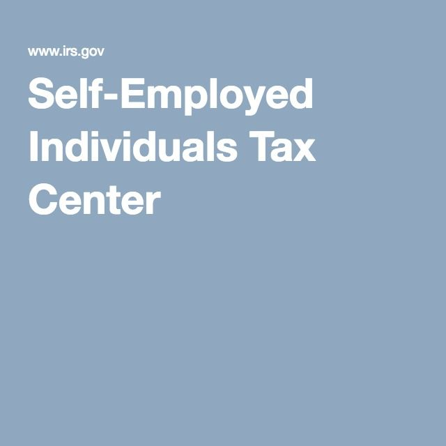 SelfEmployed Individuals Tax Center  MoneyFinances