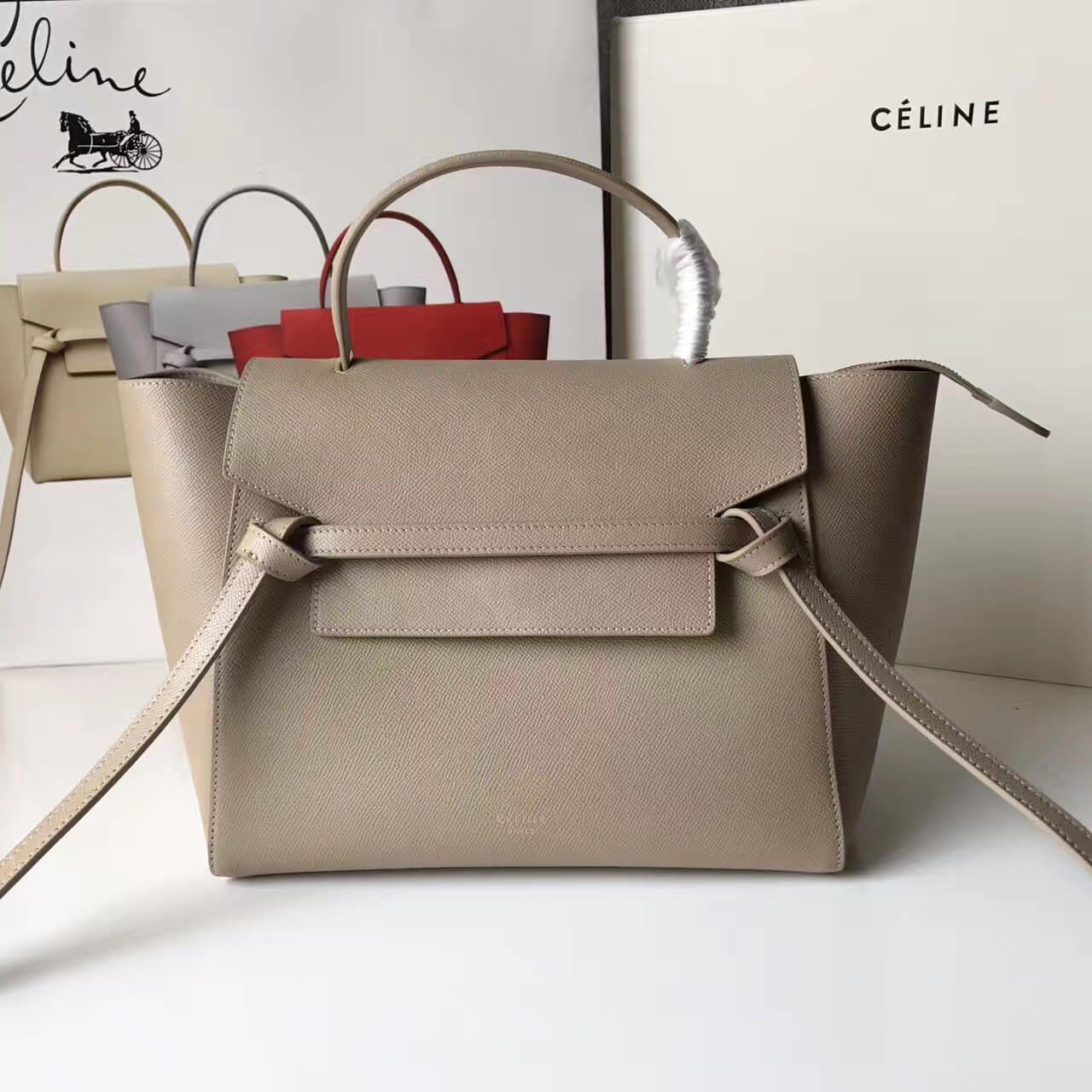 55d583ed746b0 Celine Mini Belt Handbag 100% Authentic 80% Off