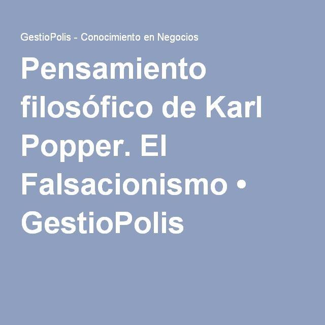 FALSACIONISMO KARL POPPER EPUB