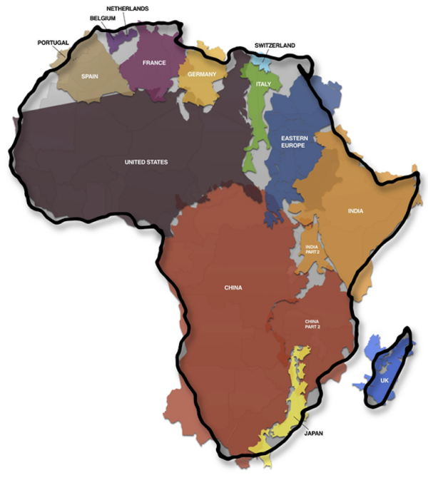 57 Maps That Will Challenge What You Thought You Knew About The World