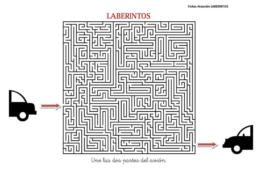 Laberintos Dificiles Fichas 1 1061 750 Free Neuroscience File Share [ 750 x 1061 Pixel ]