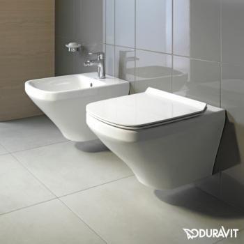 Duravit DuraStyle Wand-Tiefspül-WC rimless Set mit SoftClose WC - deko f amp uuml rs badezimmer