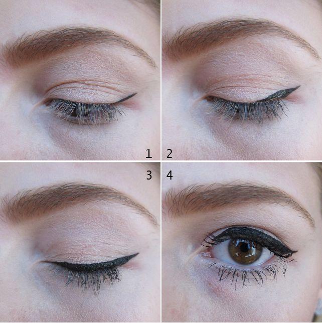 Winged Eyeliner Tutorial, The Best Gel Eyeliners   Gloss48   Gloss48