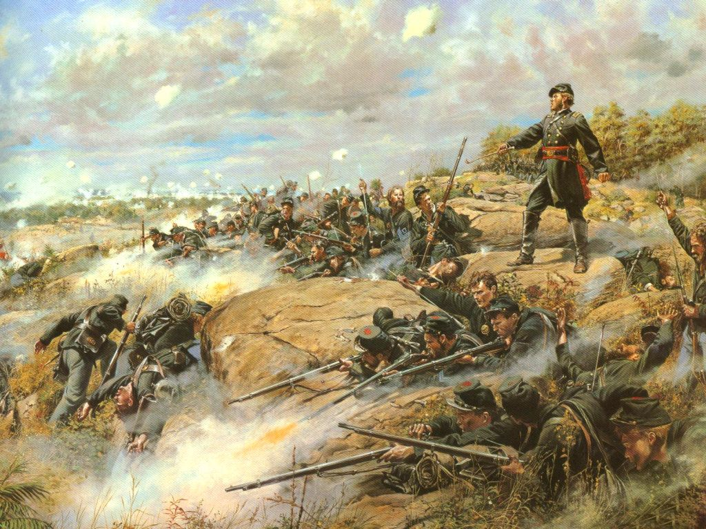 The Capture Of New Orleans During The Civil War Painting ... |American Civil War Battle Paintings