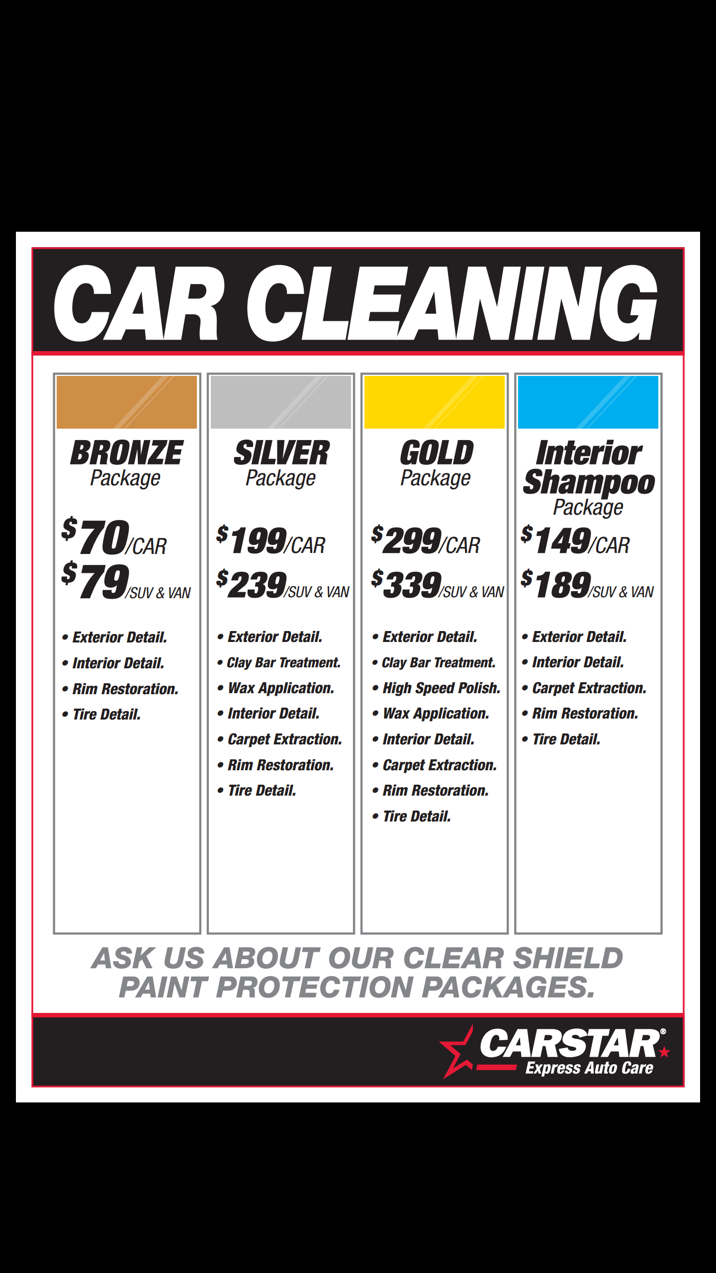 After A Long Winter Here In Ottawa The Cherokee Needs A Good Detailing This Local Detailing Company Has Great Car Detailing Car Wash Prices Car Wash Business