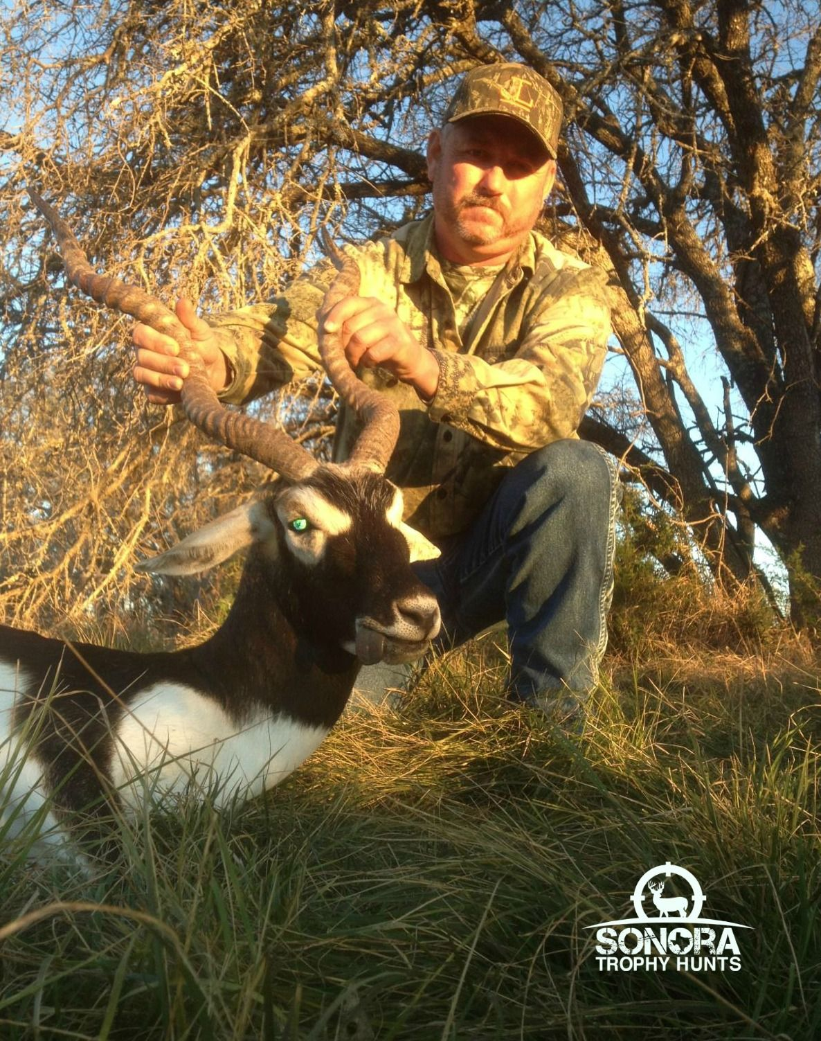 Congrats Gary for getting this black buck at Sonora Trophy