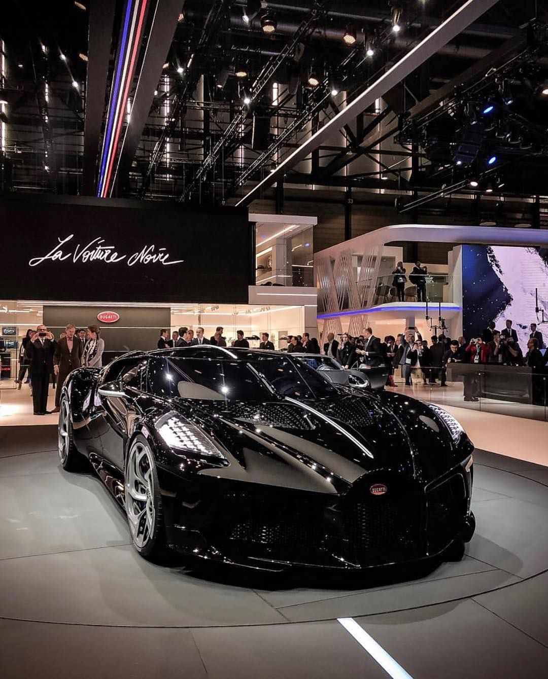 Arabmoney Official On Instagram The All New Bugatti La Voiture Noire 1of1 The Most Expensive New Car In The World With A Bugatti Cars Sports Car Bugatti