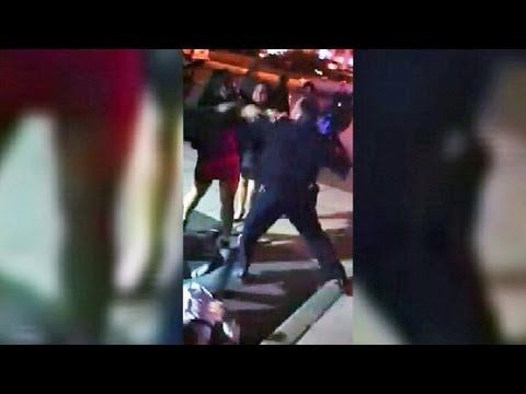 Officer Punches Woman in the Face (Video)
