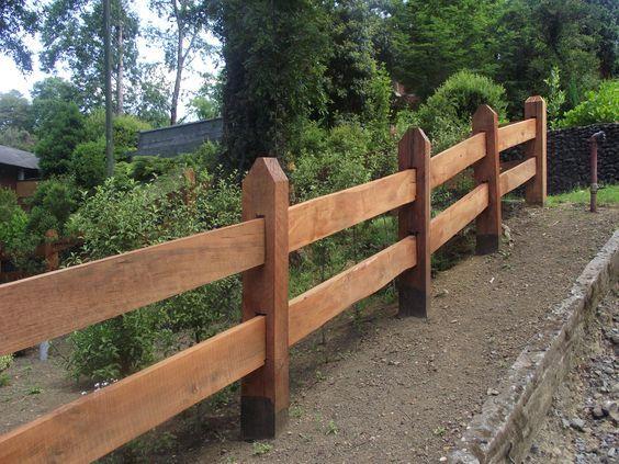Cercos Cercas y bardas para casas Pinterest - cercas para jardin