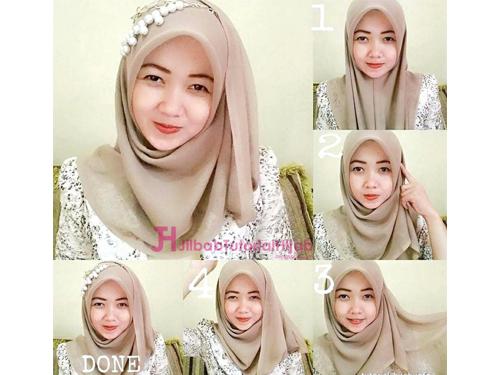 Wajah Bulat Tutorial Hijab Segi Empat Simple Ragam Muslim Tutorial Hijab Pashmina Gaya Hijab Kasual Inspirasi Fashion Hijab