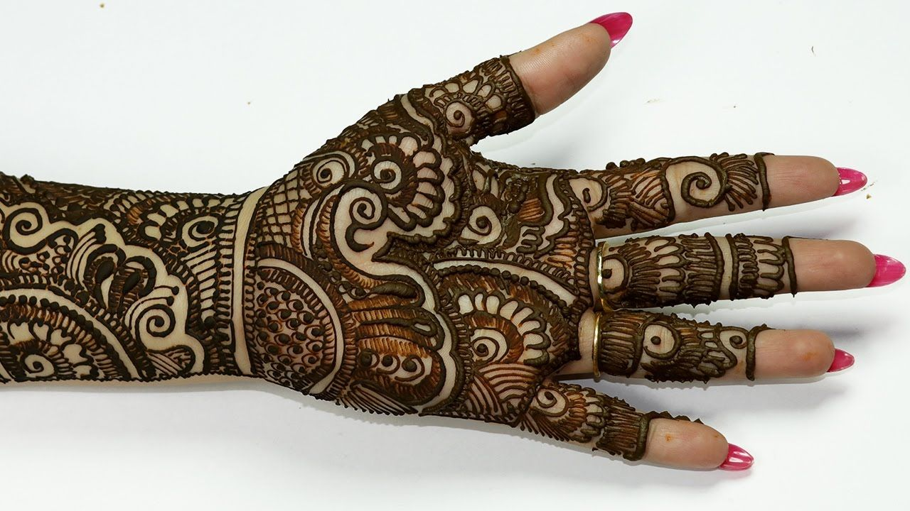 Latest Mehndi Hands : Latest bridal mehndi designs for full hands craft community