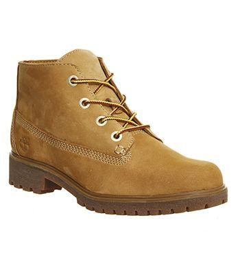 Timberland, Slim Nellie Chukka Boots, Wheat Nubuck | Shoes