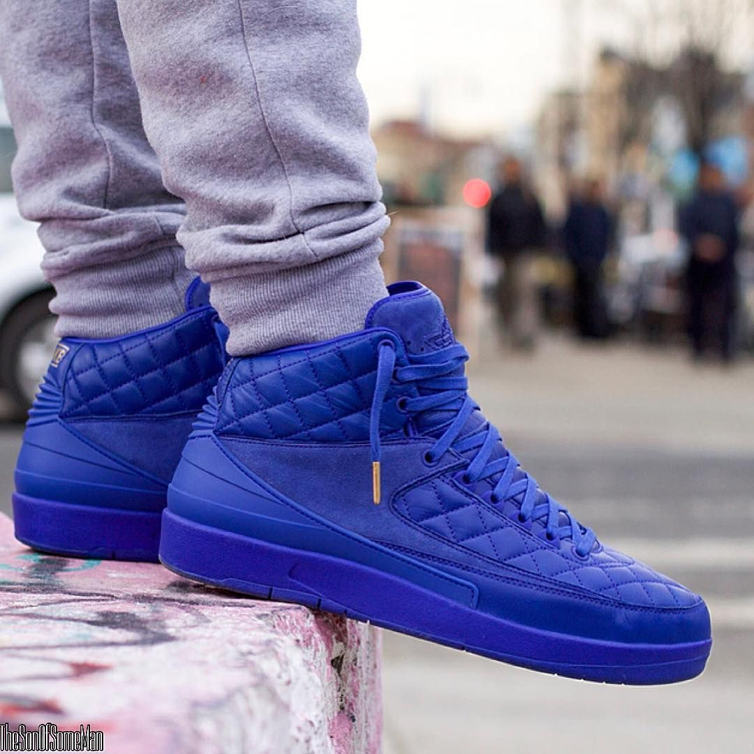 Air Jordan 2 Retro Just Don Royal Blue | Sneakers men fashion ...