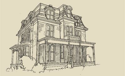 Second Empire House Plans Victorian House Plans Victorian Homes Brick Exterior House