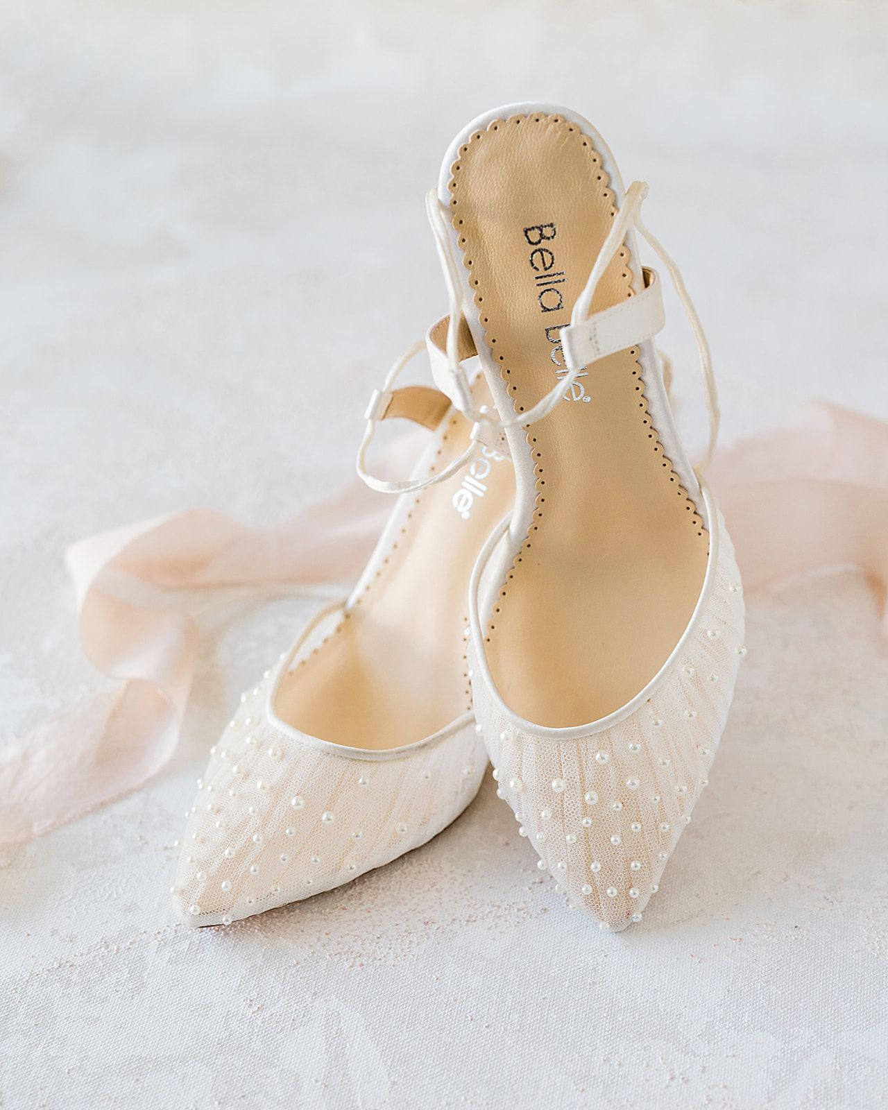 Beautiful Pearl Wedding Shoes Pearl Wedding Shoes Bride Shoes Wedding Shoes Low Heel