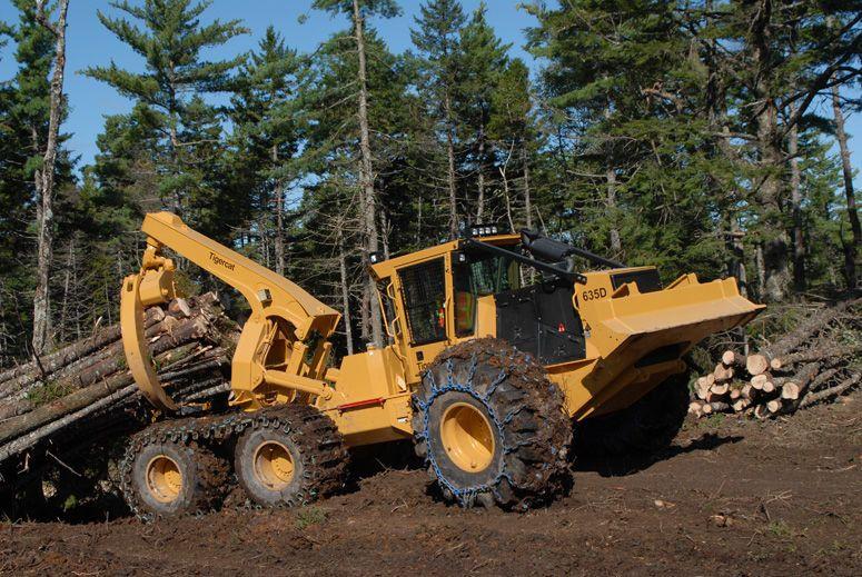 Wooden Toy Log Skidder : Tigercat skidder google search logging pinterest