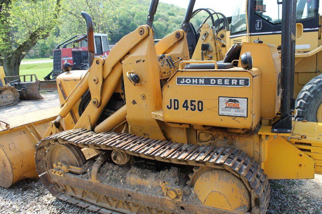 John deere 450 crawler tractor 450 crawler loader service