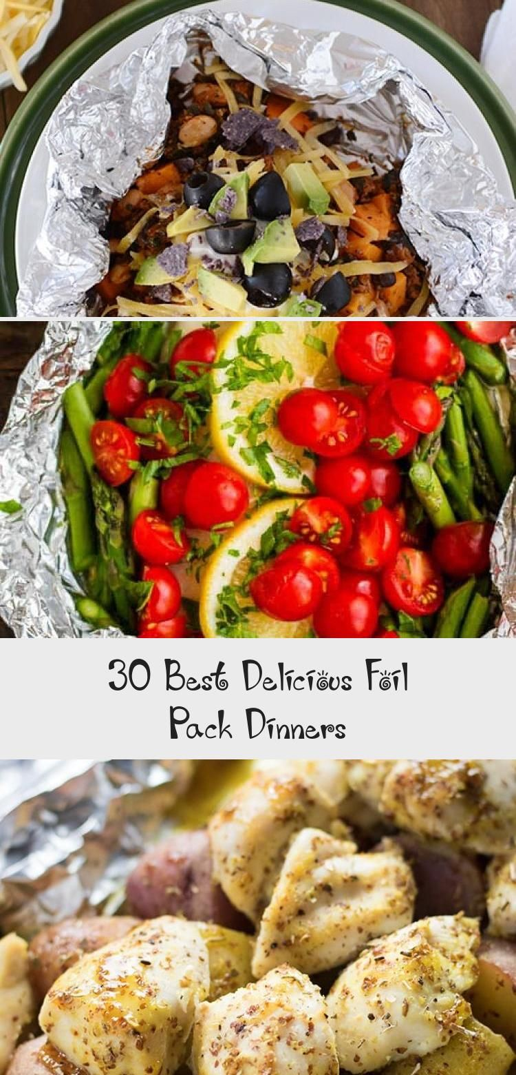 Photo of 30 Best Delicious Foil Pack Dinners – Recipe