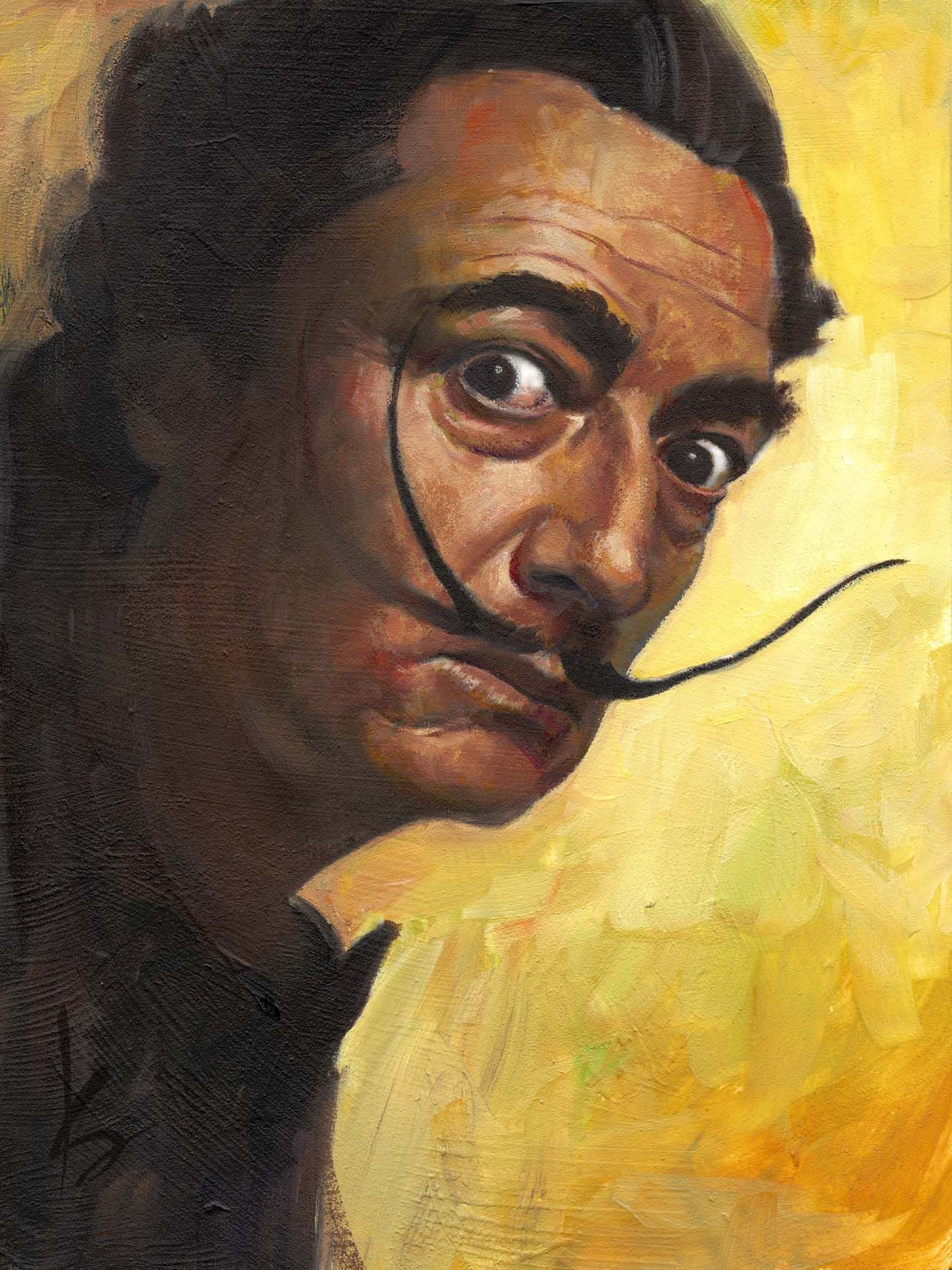 dali self portrait - Google Search | Art Lesson Ideas: Famous ...