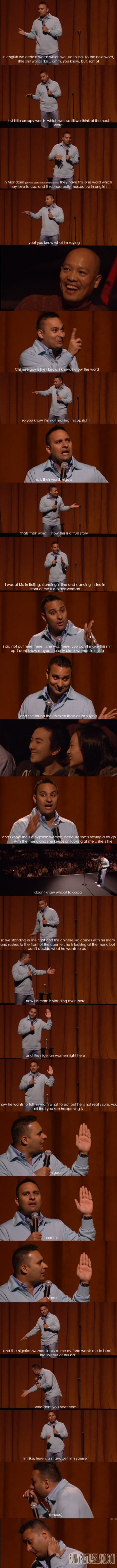 LOL! Check this out russell peters