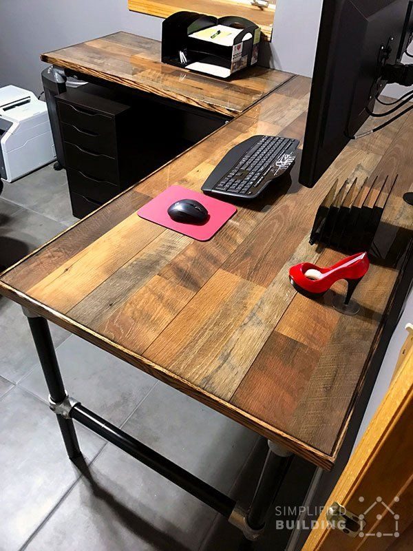 Hardwood Flooring Table Top Desk Laminate Flooring Wood