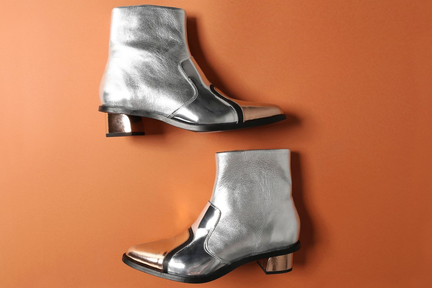 83393ffc2a8 Mid Heel Ankle Boots EUREKA CONCEPT COLLECTION - Multicolor