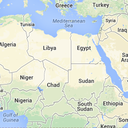 Google Map of United Arab Emirates (UAE) - Nations Online Project ...