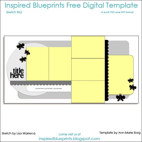 Inspired blueprints double layout sb dbl pg sketches 5 7 photo inspired blueprints double layout malvernweather Choice Image