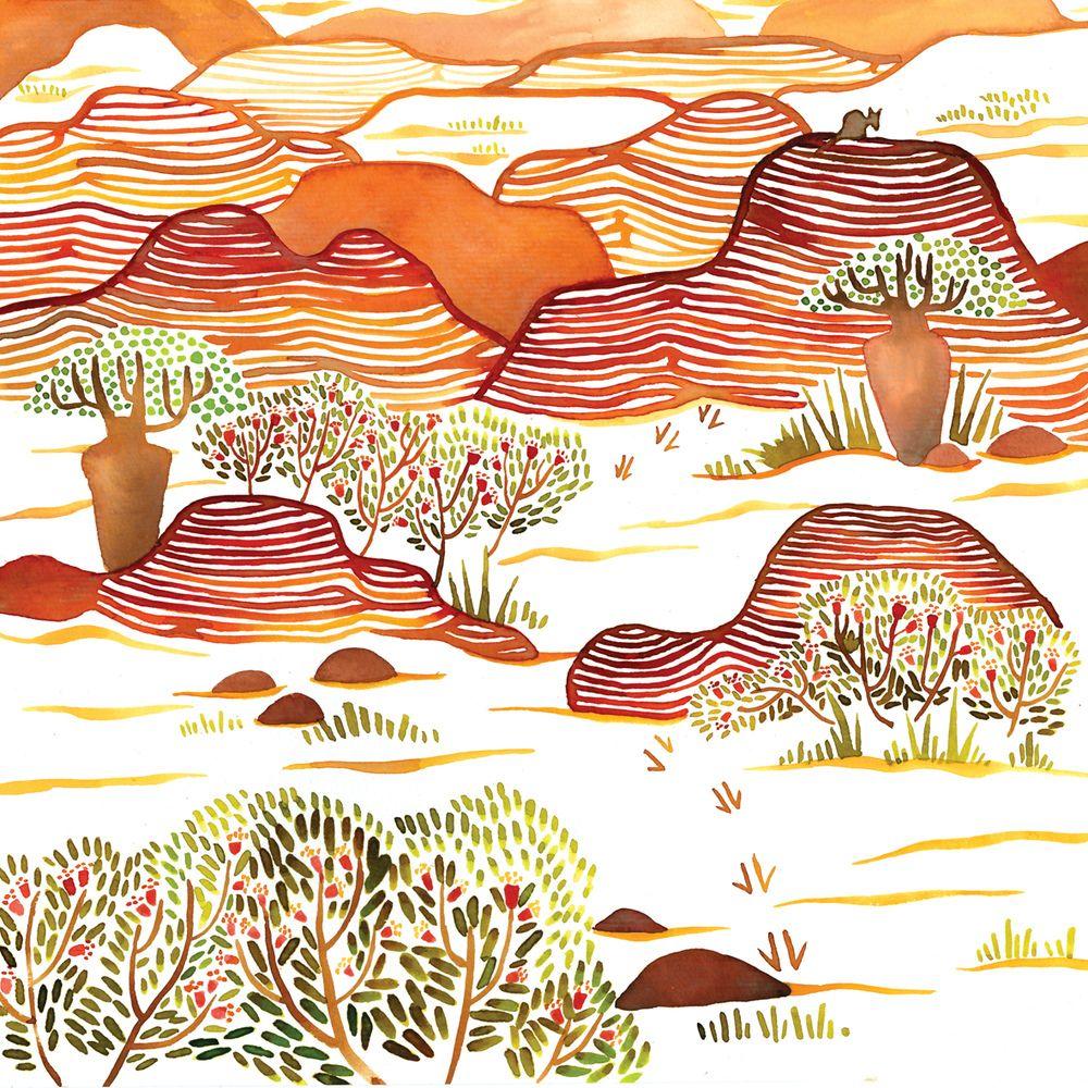 dorischang - Kimberley Region, Western Australia.