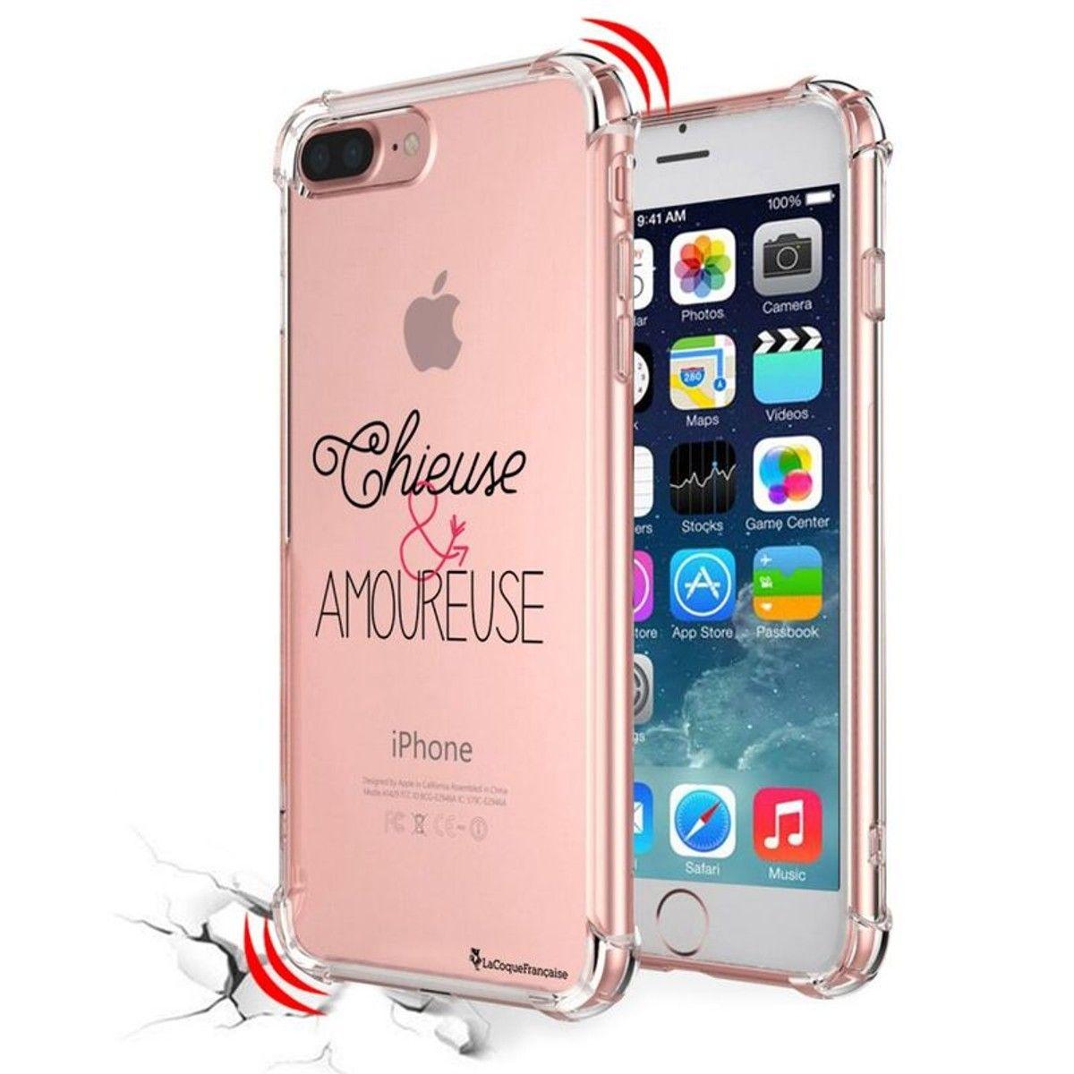 coque iphone 7 transparent phrase