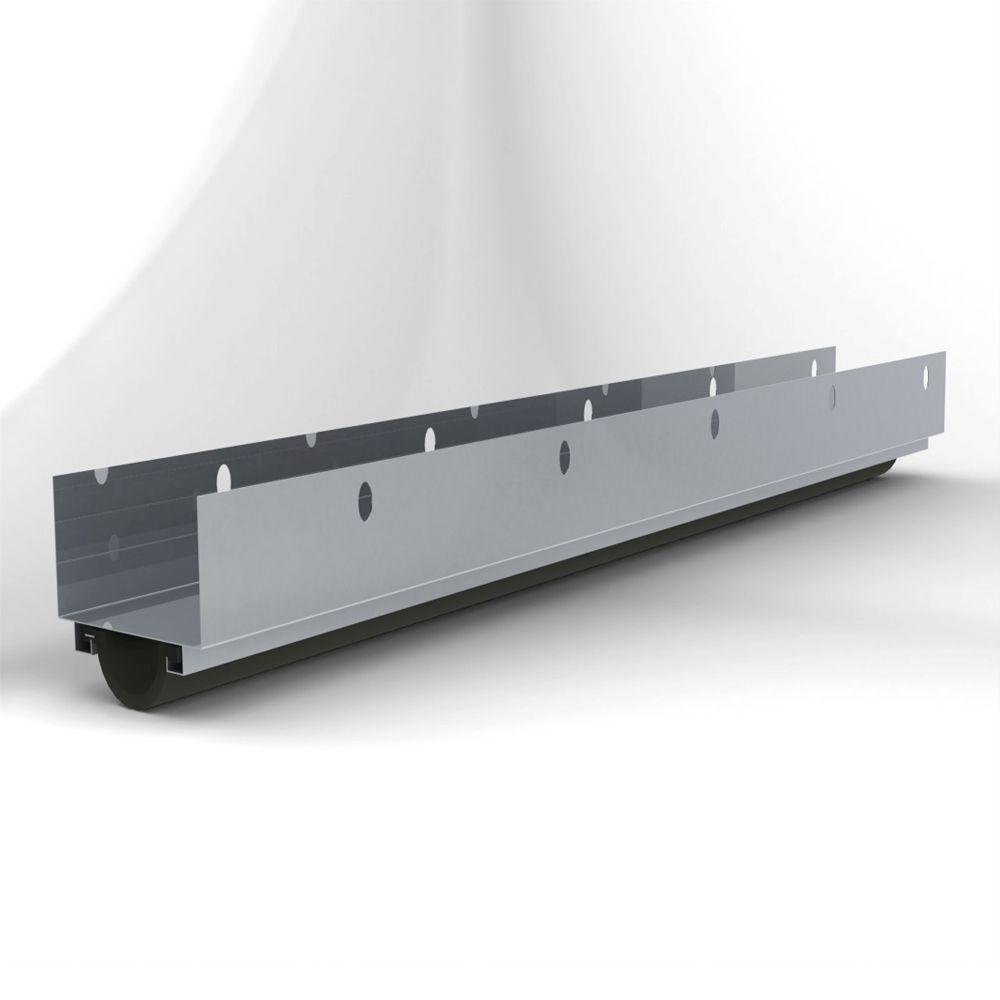 L I F Industries Door U Bottom Seal For Doors Up To 36 In Wide U36 The Home Depot Exterior Doors Residential Steel Doors Sound Proofing Door