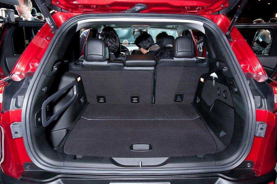 Great Jeep Cherokee Trunk Space