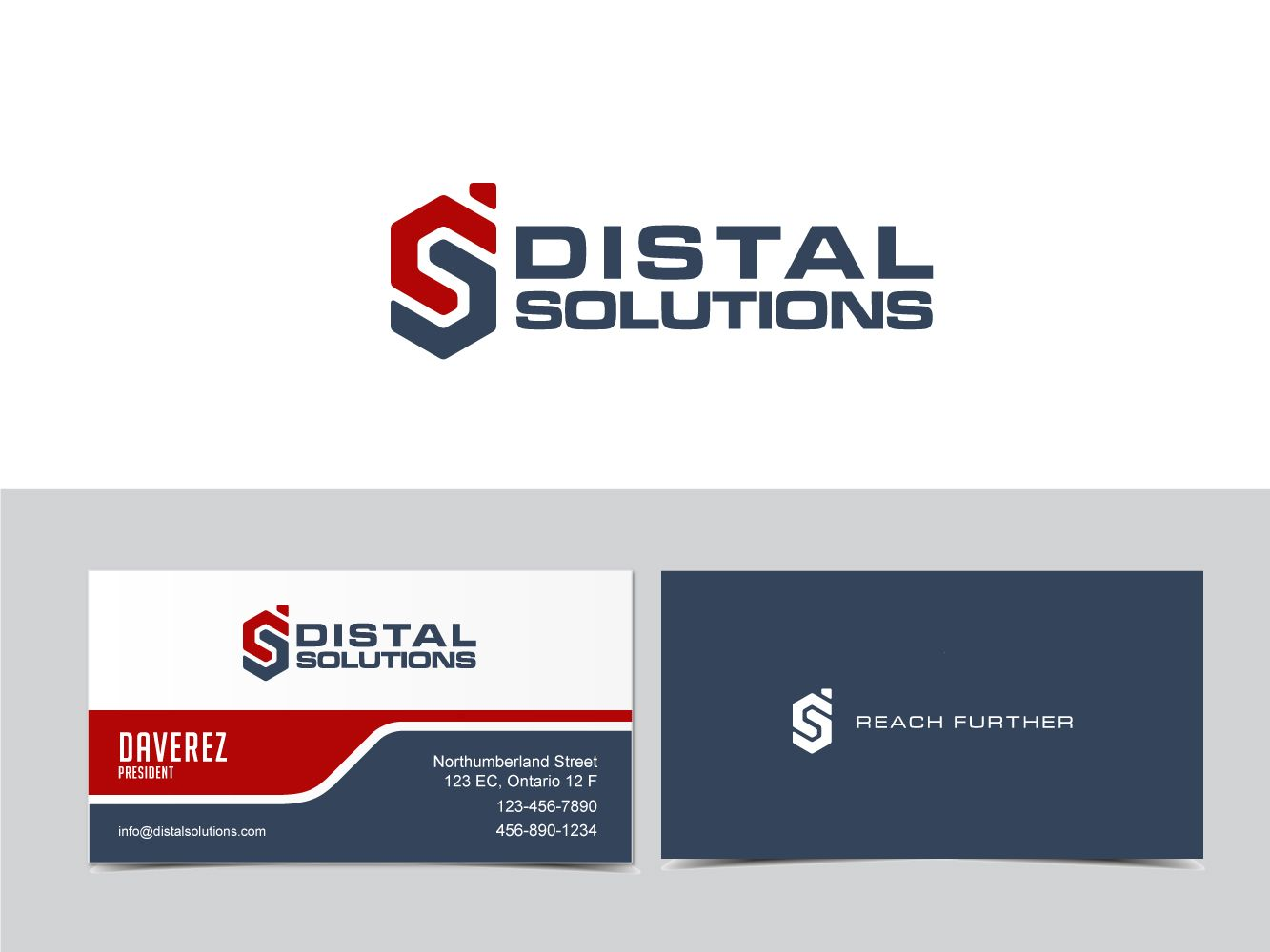 Help Distal Solutions design life-saving products, starting with a logo... Logo & business card design #281 by bhozosh