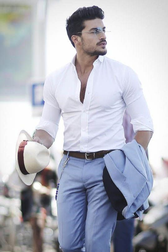 livingpursuit: Mariano Di Vaio in Tommy Hilfigers SS 15 Collection