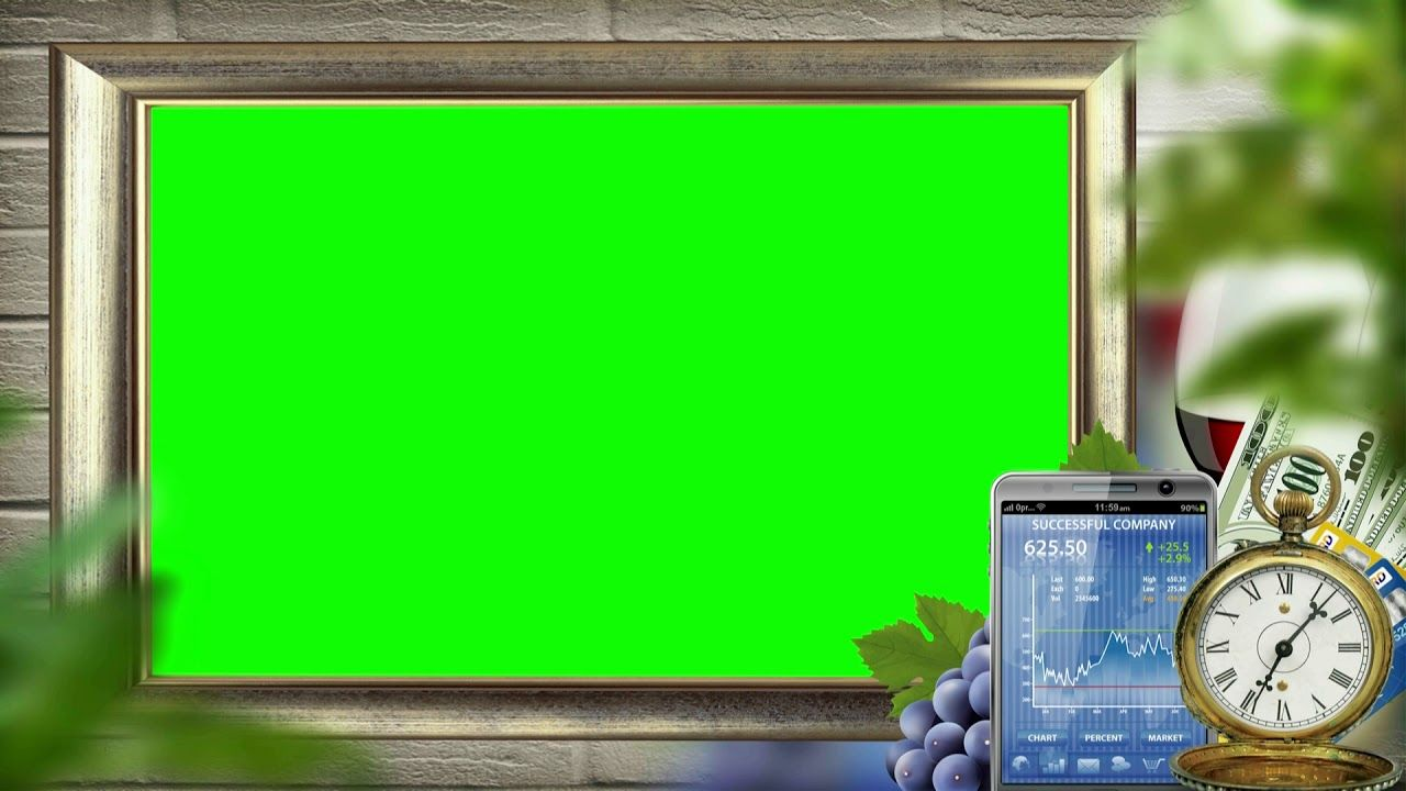 Wedding Video Background Green Screen Animated Effects Chroma Key Video Green Screen Photography Greenscreen Frame Download