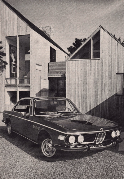 vsdesign 1970 BMW 2800 CS Motor