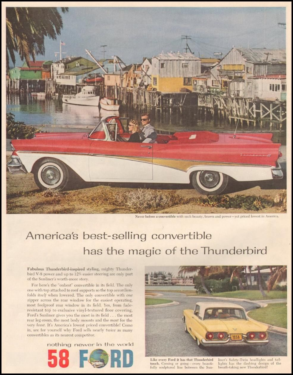 FORD AUTOMOBILES LIFE 05/05/1958 p. 82