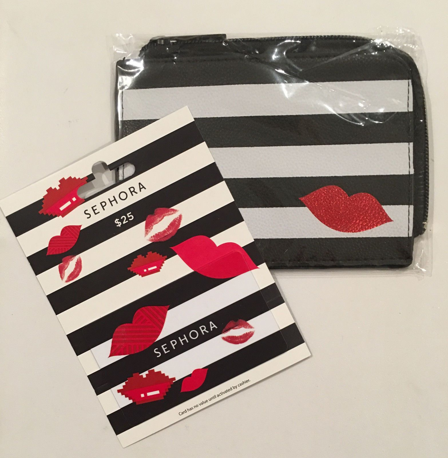 $25 Sephora gift card with Limited Edition Collectible Pouch Case ...