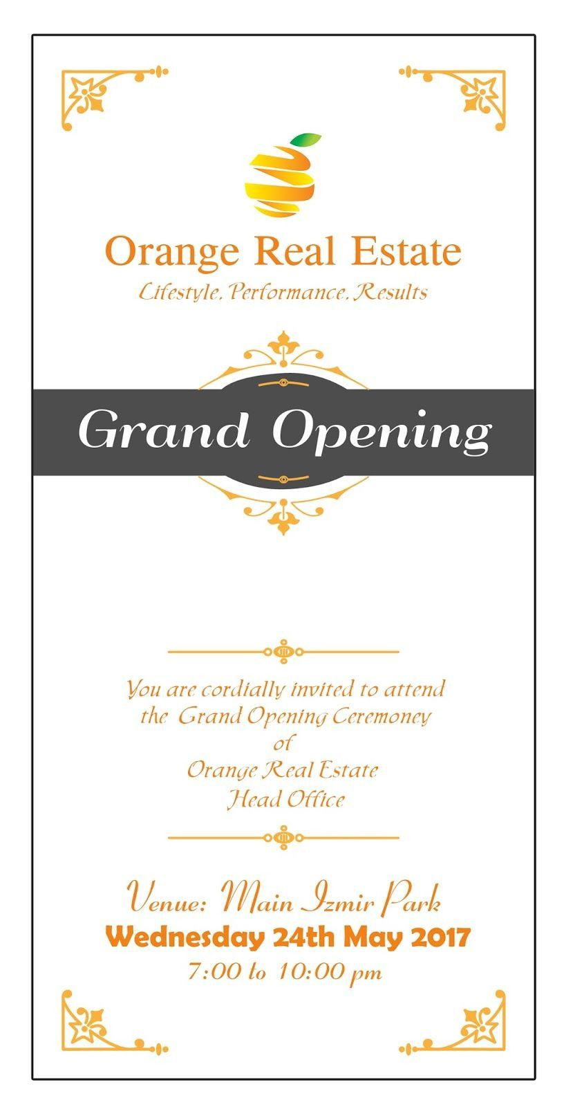 Grand Opening Invitation Wording Shop Opening Invitation Card Grand Opening Invitations Invitation Card Design