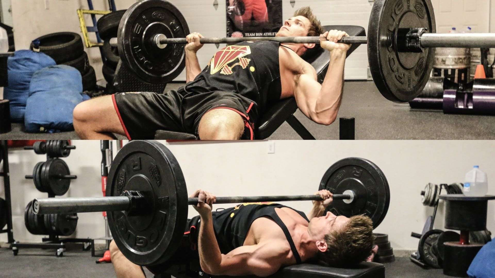 Pin On 2016 Upper Body Chest Barbell Bench Press