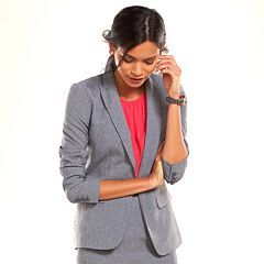 Apt. 9® Solid Career Blazer - Women's