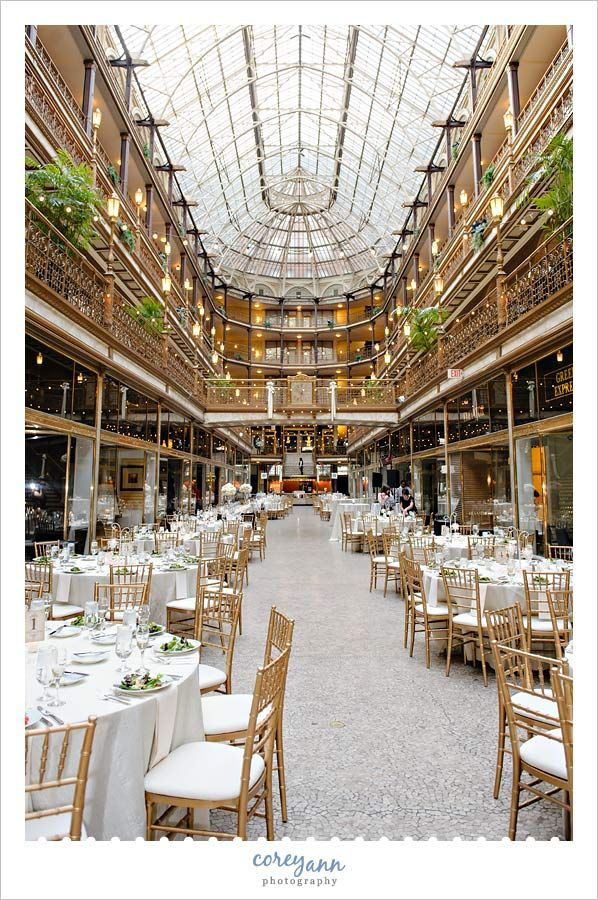 Wedding At The Hyatt Regency At The Arcade In Cleveland Ohio