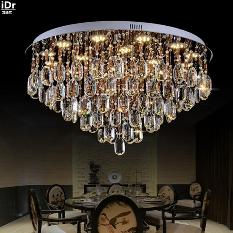 European Crystal Lamps Living Room Lights Bedroom Lamp Led Crystal