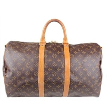 3ba3aa5ca5b54 Louis Vuitton Keepall 45 Luggage Travel Suitcase Overnight Carry On Duffle  Bag. Monogram Canvas Travel Bag. Save 72% on the Louis Vuitton Keepall 45  Luggage ...