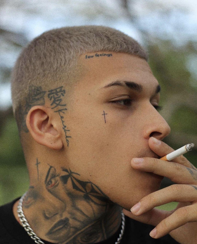 Pin by Esperanza Contreras on funes Side neck tattoo