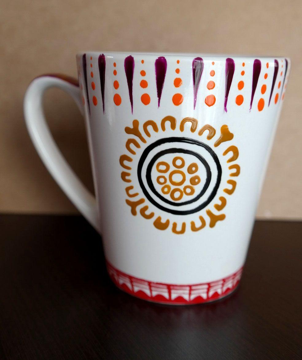 Tazas coffee the coffee table - Tazas decoradas a mano ...